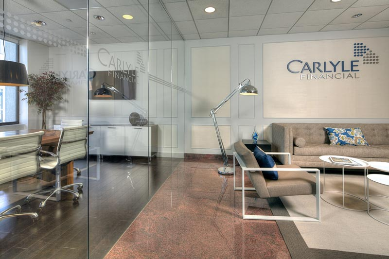 Caryle Financial Waiting Area